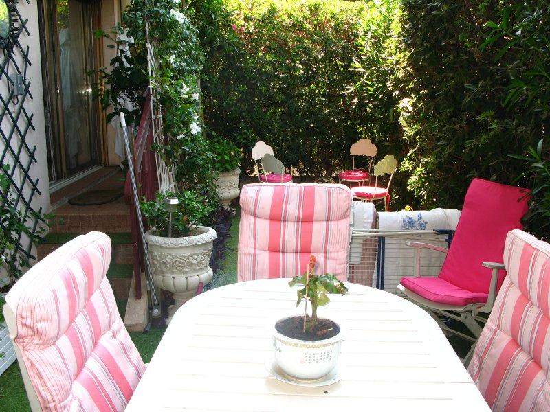Vente le cannet 3p rez de jardin for Jardin 3p